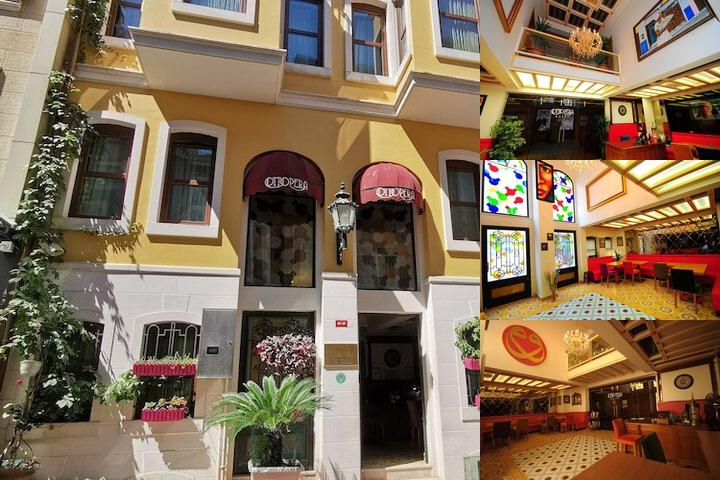 Ottopera Hotel photo collage