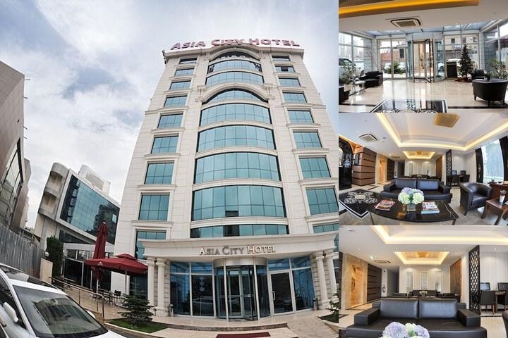 Asia City Hotel Istanbul photo collage