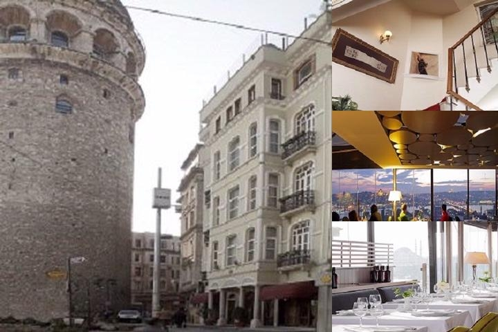 Anemon Galata Hotel photo collage