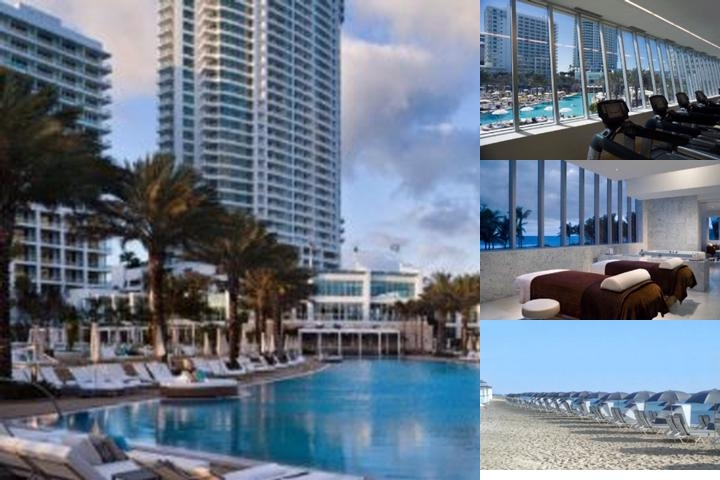 Fontainebleau Miami Beach photo collage