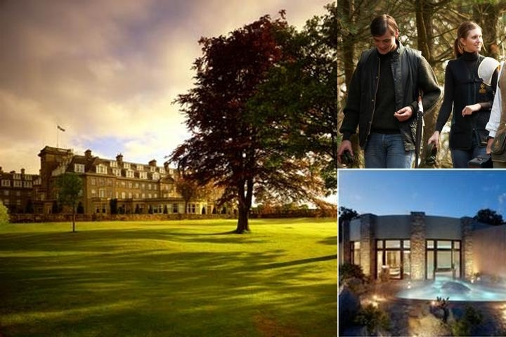 The Gleneagles Hotel photo collage