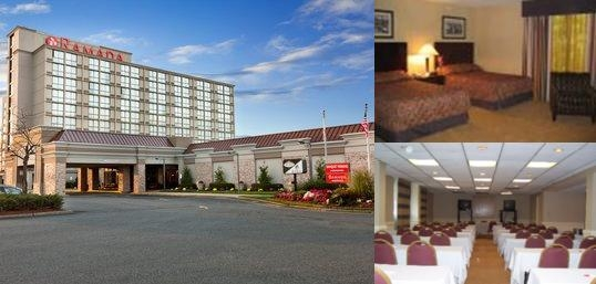 Ramada Inn Newark Airport Guest Room - King Bed - Newly Renovated
