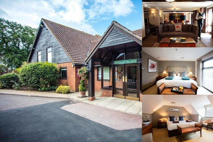 Barnham Broom Hotel photo collage