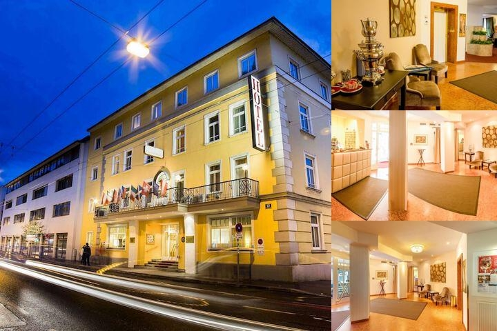 Goldenes Theater Hotel photo collage