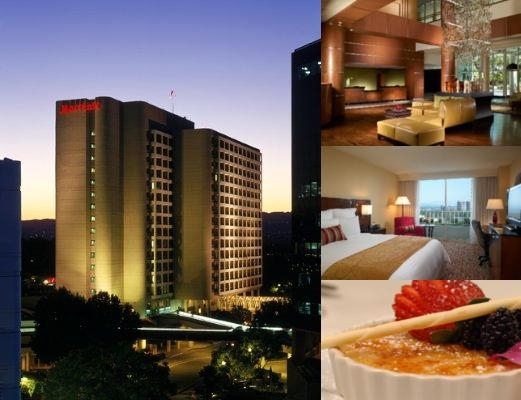 Warner Center Marriott photo collage
