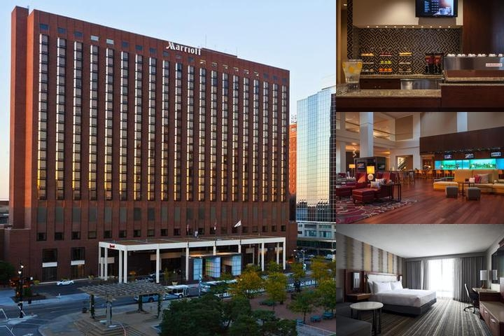 Kansas City Marriott Downtown photo collage