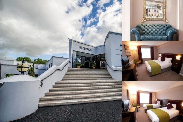 Waterfoot Hotel photo collage