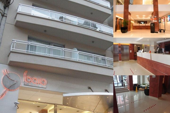 Icaro Suites photo collage