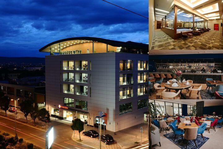 Ramada Podgorica photo collage