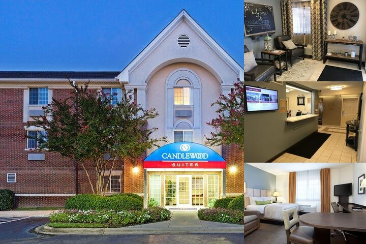 Candlewood Suites University photo collage
