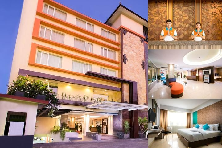 Cipaganti Legian Hotel photo collage