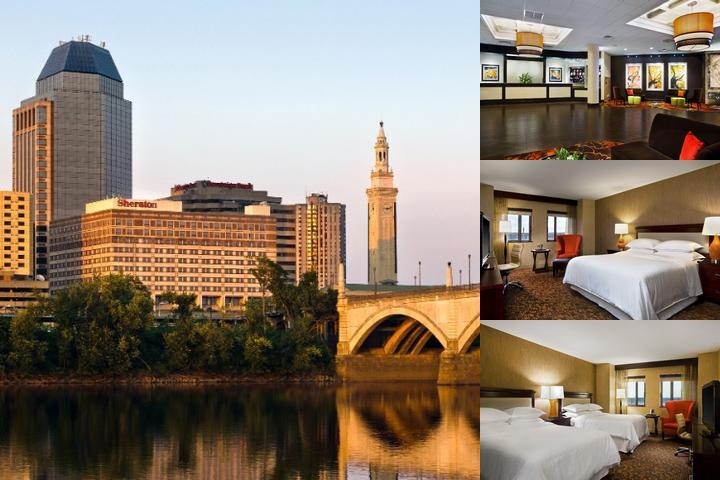 Sheraton Springfield Monarch Place Hotel photo collage