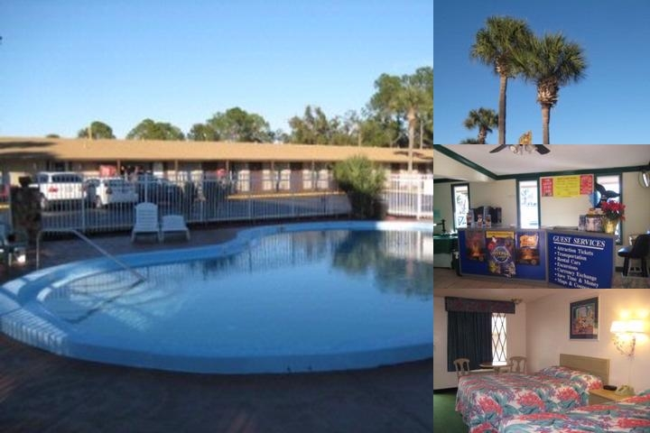 Knights Inn Maingate Kissimmee Pool View