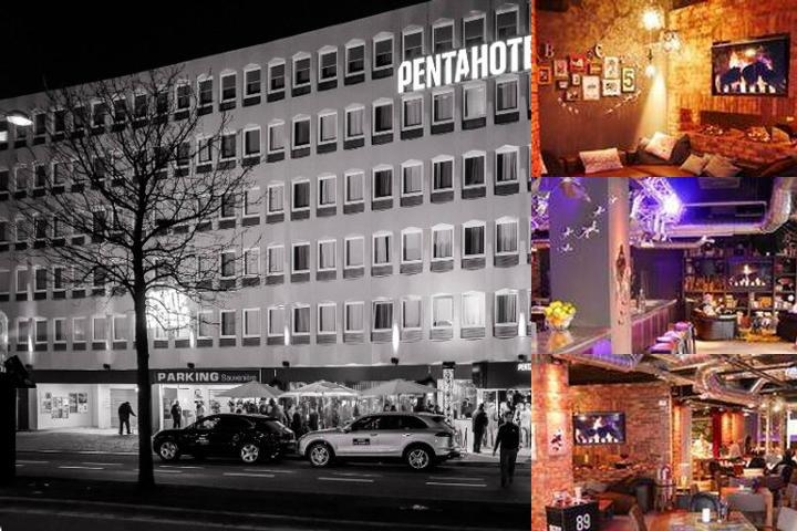Pentahotel Liège photo collage