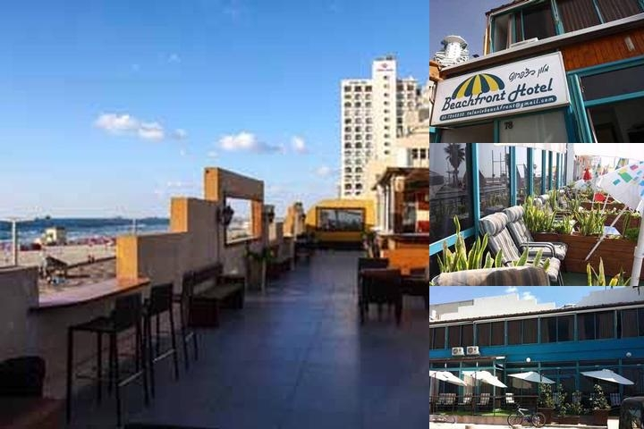 Beachfront Hotel Tel Aviv photo collage