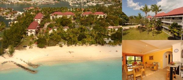 Tranquility Bay Antigua photo collage