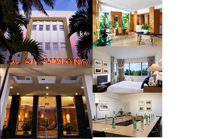 The Richmond Hotel South Beach photo collage