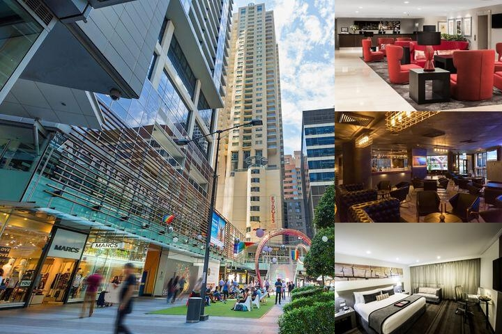Rydges World Square Sydney photo collage