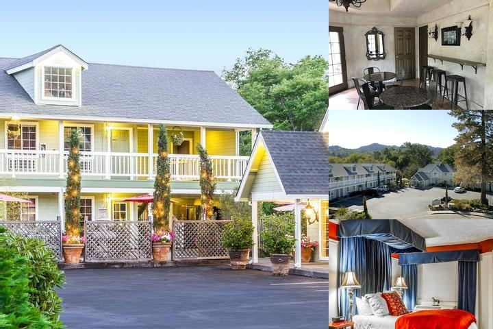 Baechtel Creek Inn & Spa photo collage