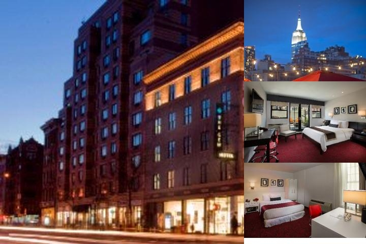 The Gem Hotel Chelsea photo collage