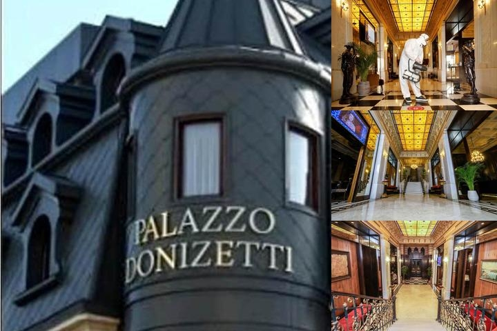 Palazzo Donizetti Hotel Special Class photo collage