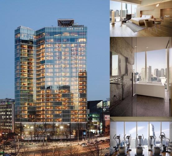 Park Hyatt Seoul photo collage