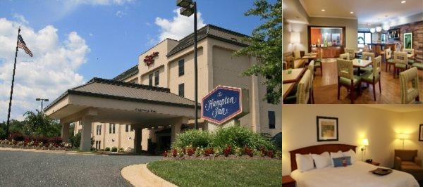 Hampton Inn Woodbridge Occoquan Potomac Mills photo collage