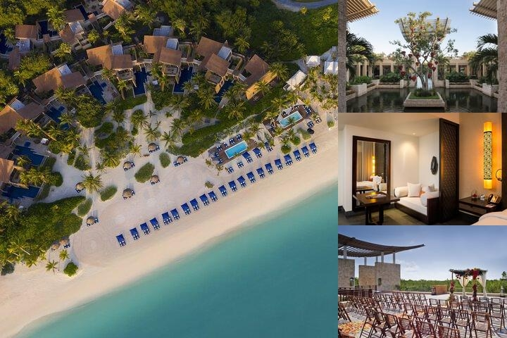Banyan Tree Mayakoba photo collage
