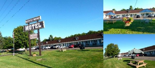 Country Squire Motel photo collage