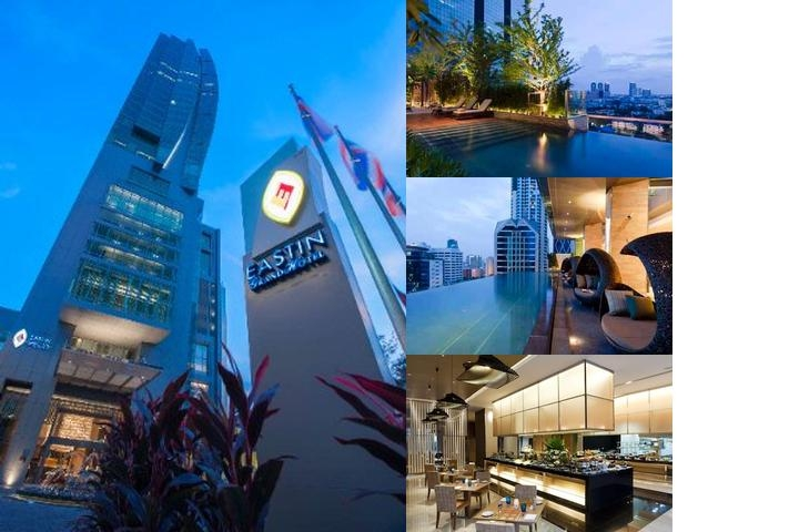 Eastin Grand Hotel Sathorn Bangkok photo collage