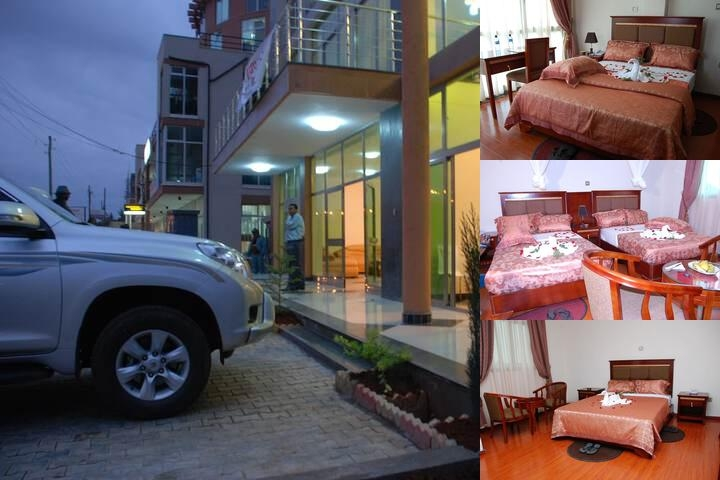 Addis Amba Hotel photo collage