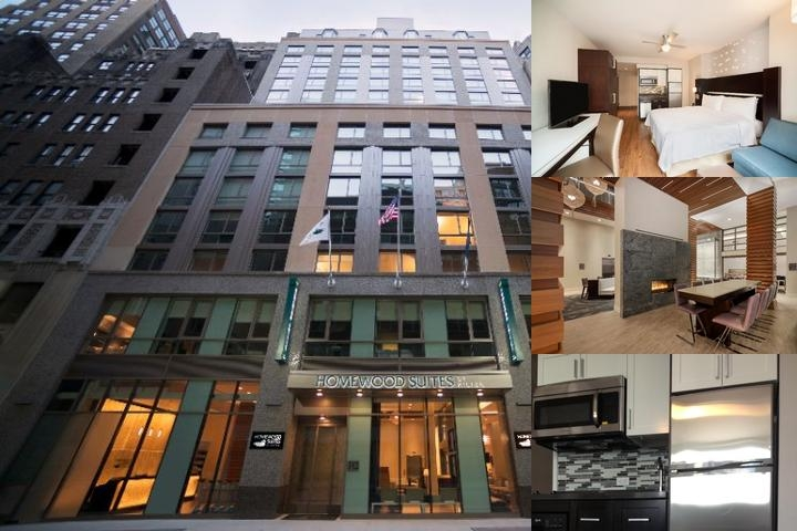 Homewood Suites Midtown Times Square South photo collage
