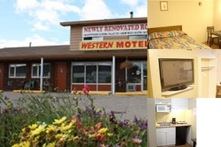 Western Motel photo collage
