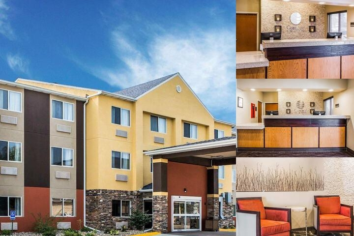 Comfort Inn & Suites Waterloo Cedar Falls photo collage