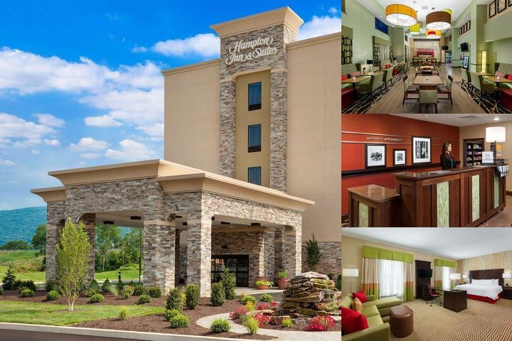 Hampton Inn & Suites Williamsport Faxon Exit photo collage