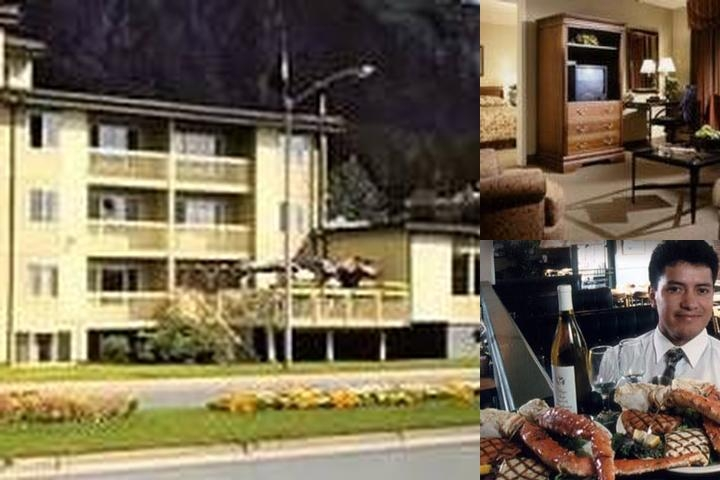 The Prospector Hotel photo collage