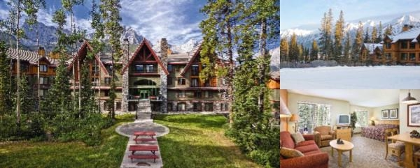 Worldmark Canmore Banff photo collage