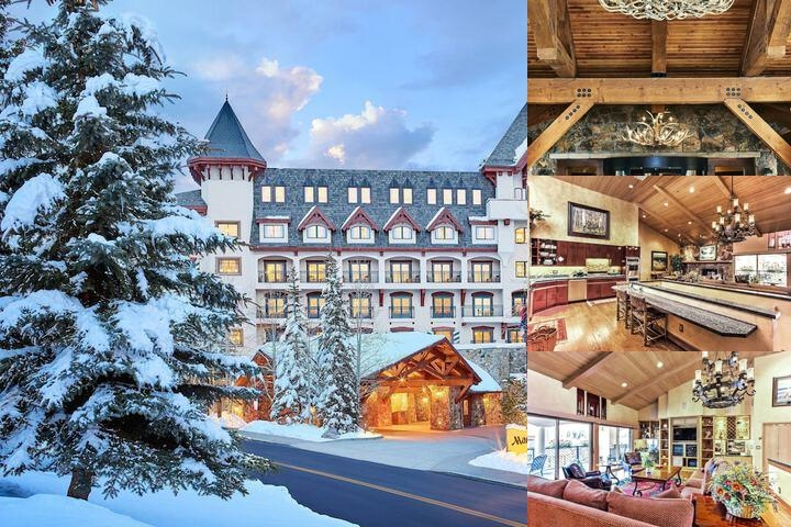 Vail Marriott Mountain Resort photo collage