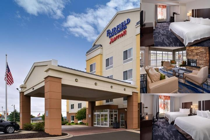 Fairfield Inn & Suites Cedar Rapids photo collage