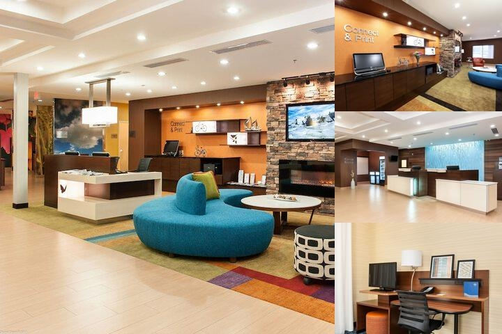Fairfield Inn & Suites by Marriott Vernon photo collage