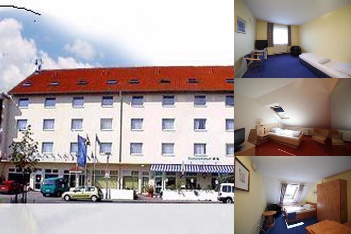 Albatros Airport Hotel photo collage