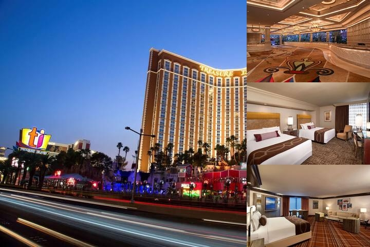 Treasure Island Hotel & Casino photo collage