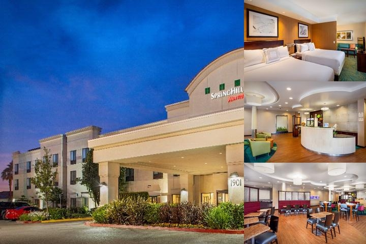 Springhill Suites by Marriott Modesto photo collage