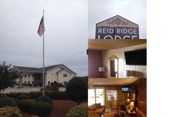 Reid Ridge Lodge photo collage