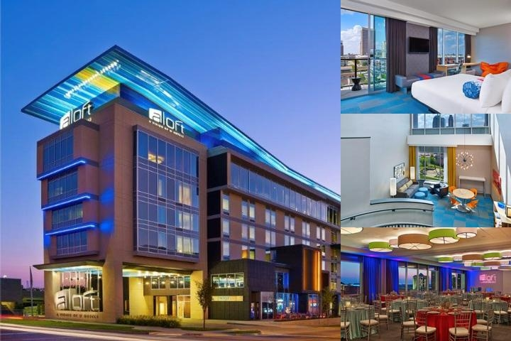 Aloft Oklahoma City Downtown Bricktown photo collage