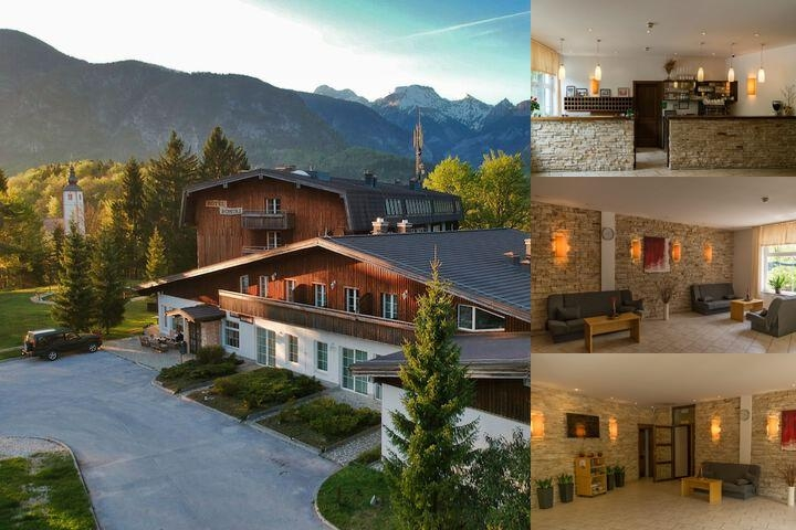 Hotel Bohinj photo collage