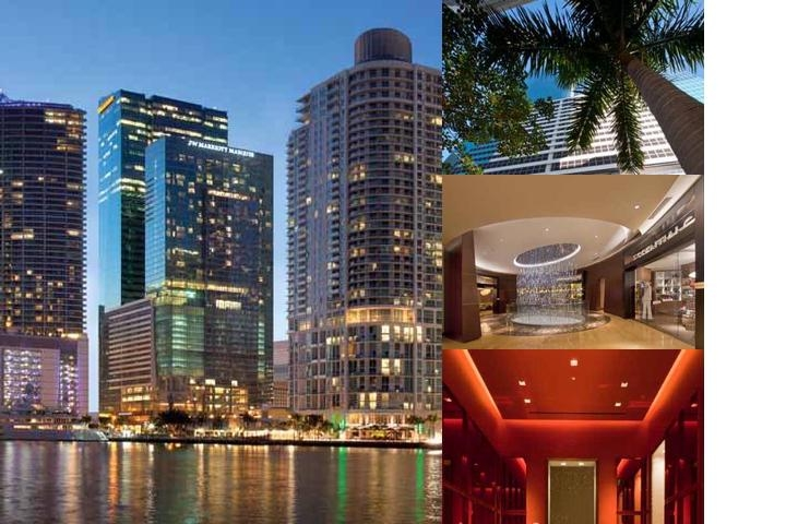 JW Marriott Marquis Miami photo collage