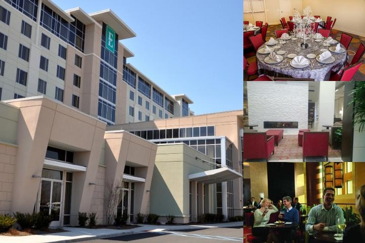 Brand New Embassy Suites Newark Airport photo collage