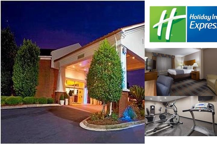 Holiday Inn Express Savannah North photo collage