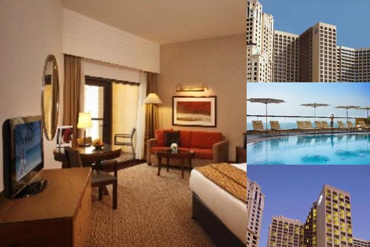 Amwaj Rotana Jumeirah Beach Residence Dubai photo collage